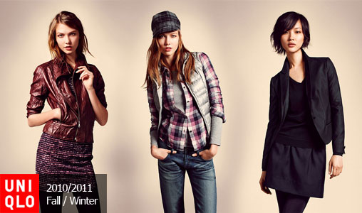 Uniqlo Fall / Winter 2010-2011