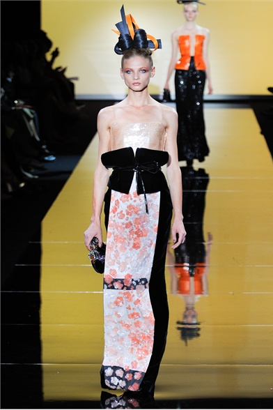 Paris Haute Couture Fashion Week Fall 2011-Armani Prive