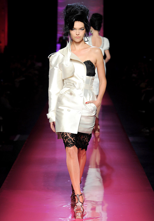 Jean Paul Gaultier for Paris Haute Couture 2012